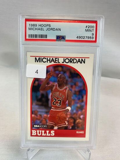 1989 Hoops Michael Jordan PSA 9