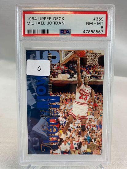 1994 Upper Deck Michael Jordan PSA 8