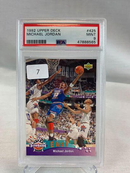 1992 Upper Deck Michael Jordan PSA 9