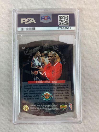 1995 SP All Star Michael Jordan PSA 8