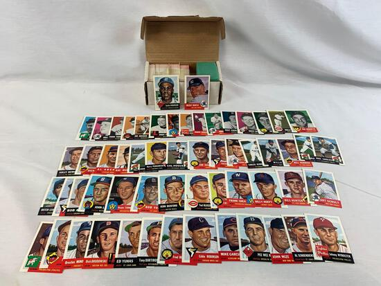 1953 Topps Archive set with Mantle and Robinson
