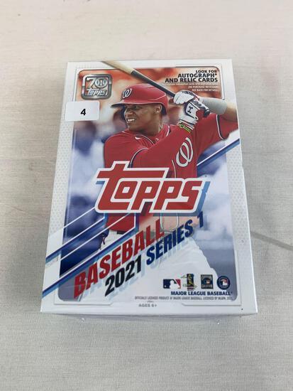 2021 Topps baseball sealed hanger box