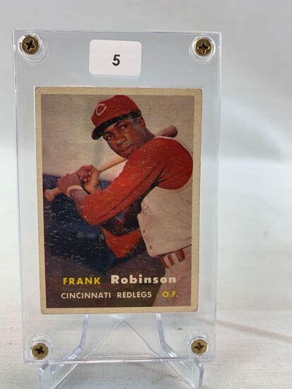1957 Topps #35 Frank Robinson RC