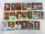 1960 Fleer Baseball Greats Lot of 20 w/Babe Ruth