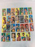 1971-72 Topps Basketball Lot of 27 w/HOFers