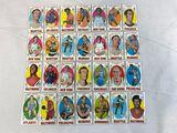 1969-70 Topps Basketball Lot of 28 w/HOFers