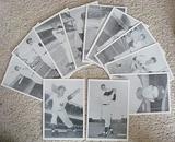 Lot Of (11) 1950s Souvenir Photos w/ Willie Mays & Whitey Ford