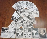 Lot Of 34 Cleveland Indians Team Issued Photos From 1940s & 1950s