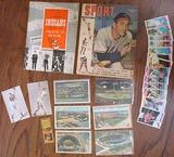 1950s Cleveland Indians Memorabilia Lot