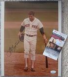 Carl Yatrzemski Signed 14x11 Photo Authenticated By JSA