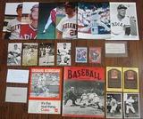 Large Lot Of 21 Vintage Cleveland Indians Autographs