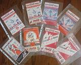 Binder Of 8 Cleveland Indians Programs 1935-1946
