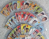 Lot Of 60 Different 1954 Topps Baseball Cards