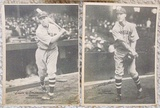 Lot Of 3 Different 1929 R316 Kashin Publications Cleveland Indians