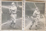 Lot Of 4 Different 1929 R316 Kashin Publications Reds Tigers