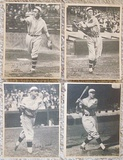 Lot Of 4 Different 1929 R316 Kashin Publications Phillies Dodgers
