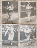 Lot Of 4 Different 1929 R316 Kashin Publications Athletics White Sox
