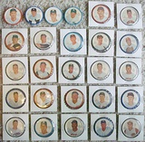Lot Of 26 Different 1962 Salada Baseball Coins EXMT