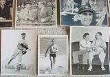 Large Lot Of 13 Original 1930s Cleveland Indians Photos w/ Bob Feller