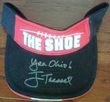 Jim Tressel Signed Unused OSU Buckeyes
