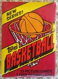 1981-82 Topps Basketball Unopened Wax Pack