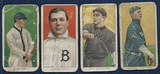 Lot Of 4 Different 1909-11 T206 Tobacco Cards