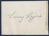 Nap Lajoie Signed 3