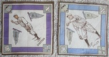 Lot Of Two 1914 B18 Tobacco Blankets Tyler Shotton