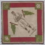 1914 B18 Tobacco Baseball Blanket Walter Johnson
