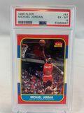 1986 Fleer Michael Jordan Rookie - PSA 6