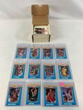 1990-91 Fleer basketball set with stickers