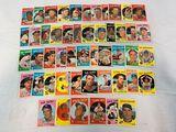 1959 Topps baseball lot of 50, no duplicates