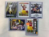 Aaron Rodgers rookie and insert lot of 5