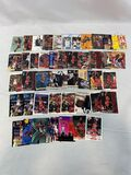 Michael Jordan card lot of 50 including inserts and star cards