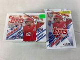 2021 Topps two sealed boxes 166 cards