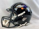 Baltimore Ravens full size black helmet