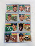 1956 Topps Off-Grade Lot w/HOFers - Mays, Snider, Campy++