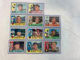 1960 Topps Baseball HOF Lot of 11 Different