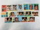 1958-61 Topps Baseball Star Lot of 16 w/HOFers
