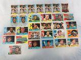 1960 Topps Baseball Lot of 30 w/Maris Colavito Banks Cash++