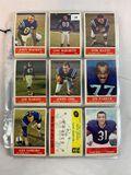 1964 Philadelphia Football Lot of 116 w/Stars