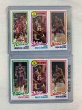 1980-81 Topps Magic Johnson RC w/Boone - Pair
