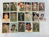 1957 Topps Off-Grade Lot of 17 w/HOFers