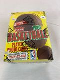 1990-91 Fleer Basketball Sealed Box
