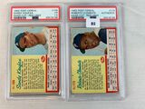 1962 Post Cereal Koufax & Clemente - PSA Graded