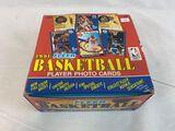 1991 Fleer Basketball Jumbo Cello Pack Box Unopened