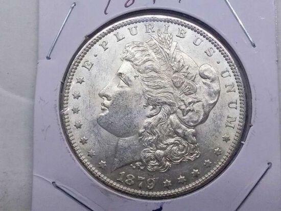 1879 MORGAN DOLLAR UNC