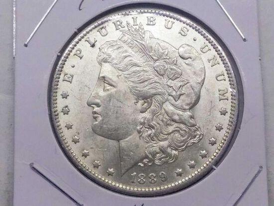 1889O MORGAN DOLLAR BU