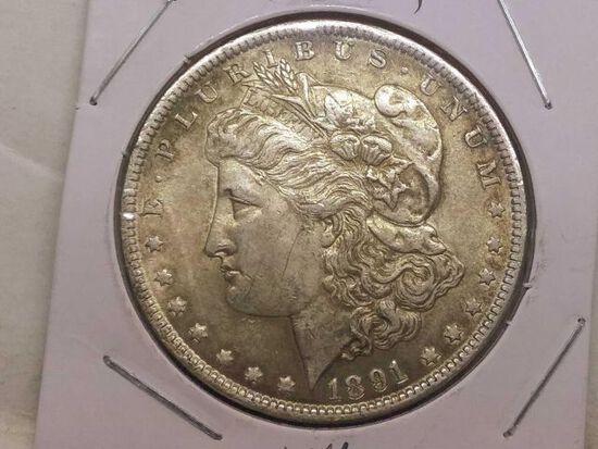 1891 MORGAN DOLLAR UNC