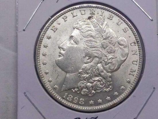 1898 MORGAN DOLLAR UNC